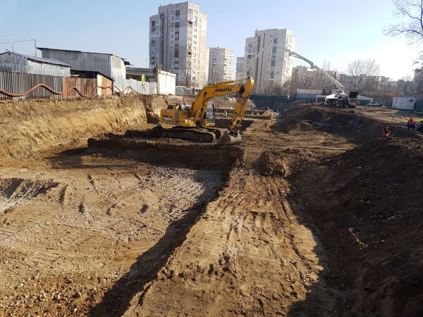 Excavation and bulk earthworks
